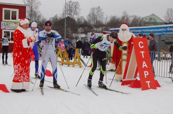 Новогодний тихвинский лыжный старт