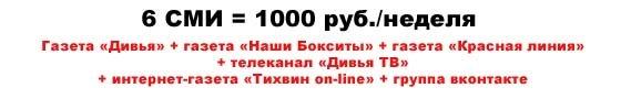 Спецпредложение. Рекламный пакет «Оптима-2016»